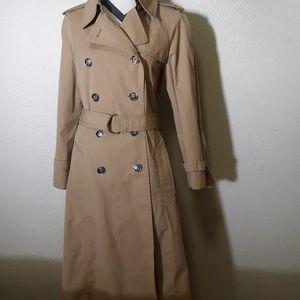London Fog 12 beige Trenchcoat womens